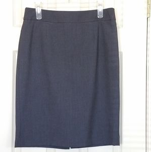 Calvin Klein Grey Skirt Pencil Size 10P
